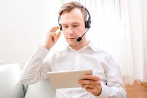 Consultation homme Skype